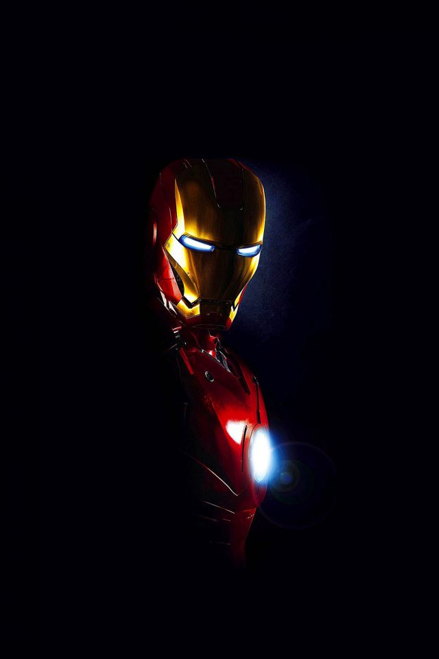 Ironman In Dark Film Art Android wallpaper