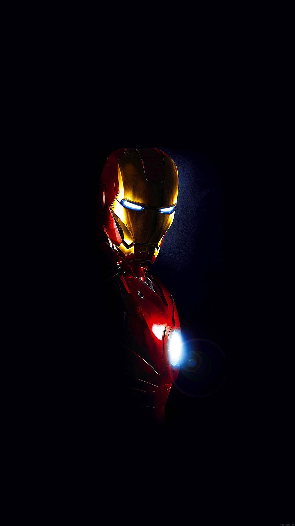 Ironman In Dark Film Art Android Wallpaper Android Hd Wallpapers