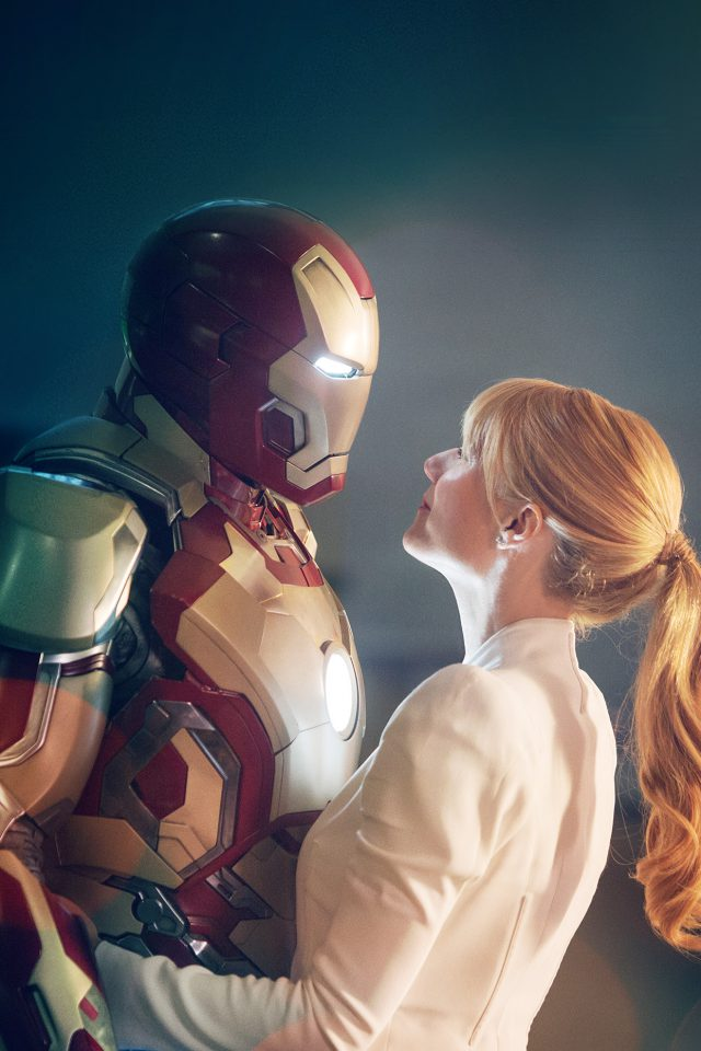 Ironman Love Hero Bokeh Film Celebrity Art Android wallpaper