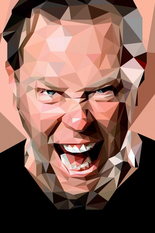 James Hetfield Music Metallica Android wallpaper