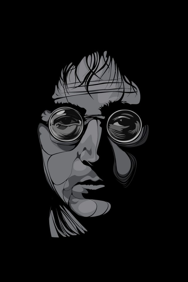 John Lennon Illust Art Music Android wallpaper
