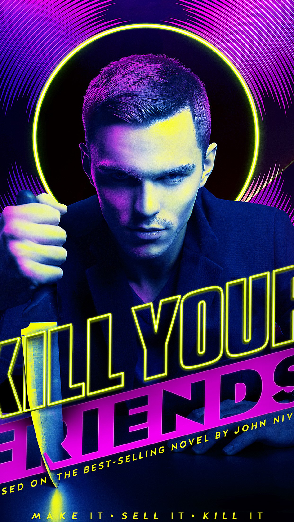 Kill Your Friends Nicolas Hoult Film Poster Art Android wallpaper