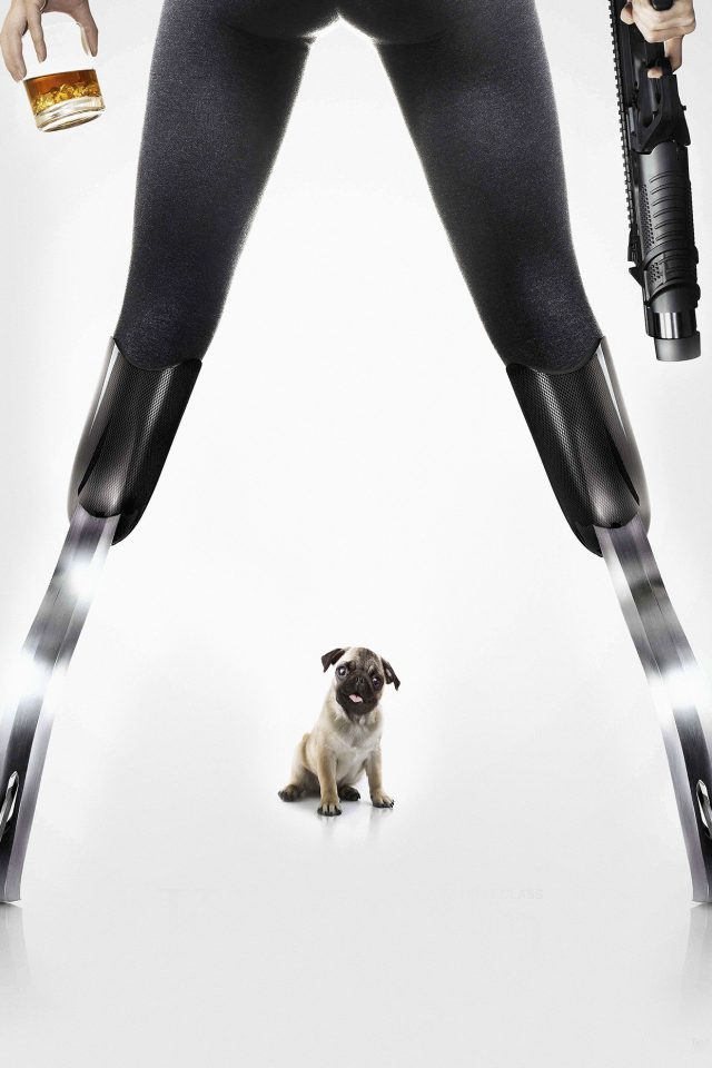 Kingsman Poster Dog Art Film Android wallpaper