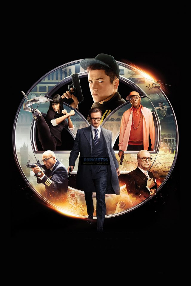 Kingsman Secret Service Film Art Poster Android wallpaper