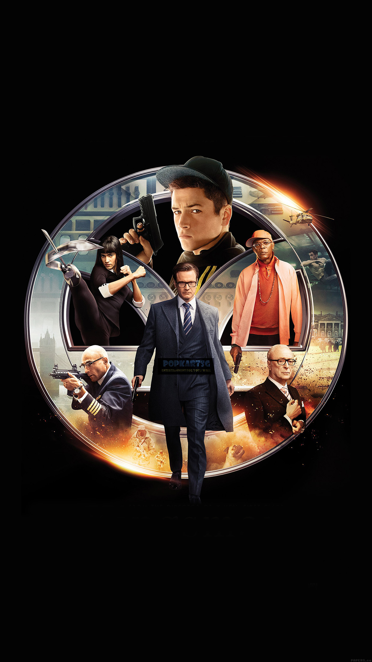 Kingsman Secret Service Film Art Poster Android Wallpaper Android Hd Wallpapers