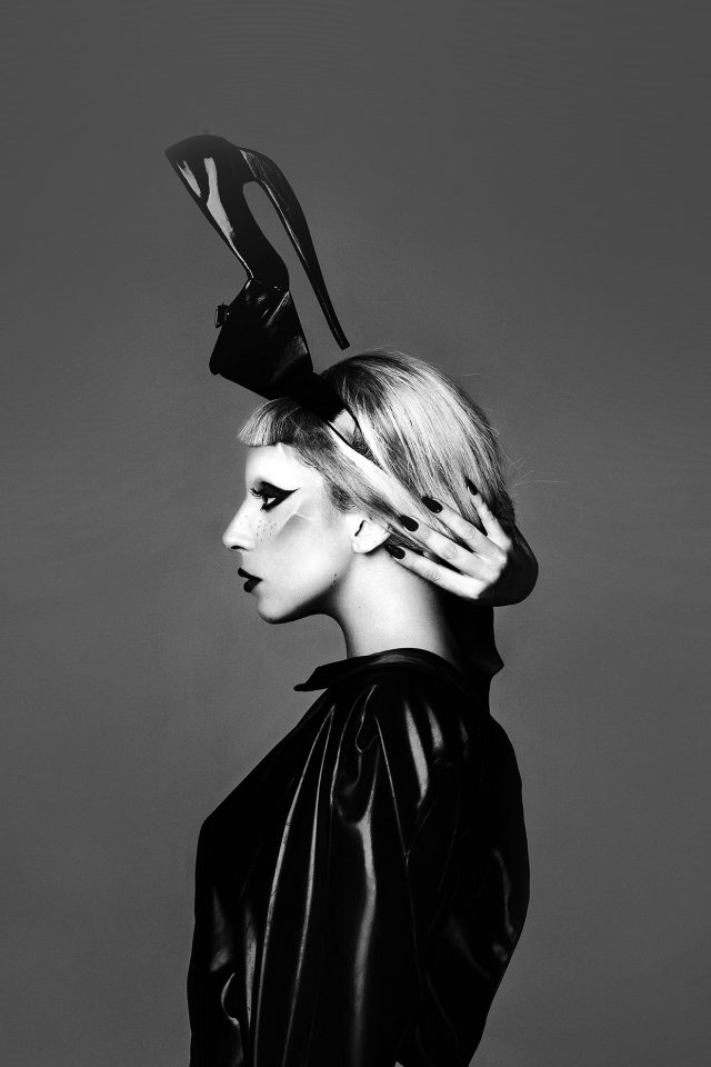 Lady Gaga Dark Mariano Vivanco Photo Music Android wallpaper