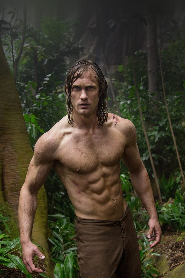 Legend Of Tarzan Film Art Android wallpaper