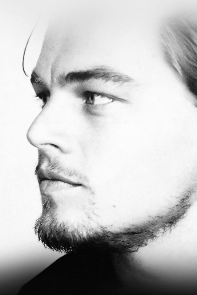 Leonardo Dicaprio Face Film Star Android wallpaper