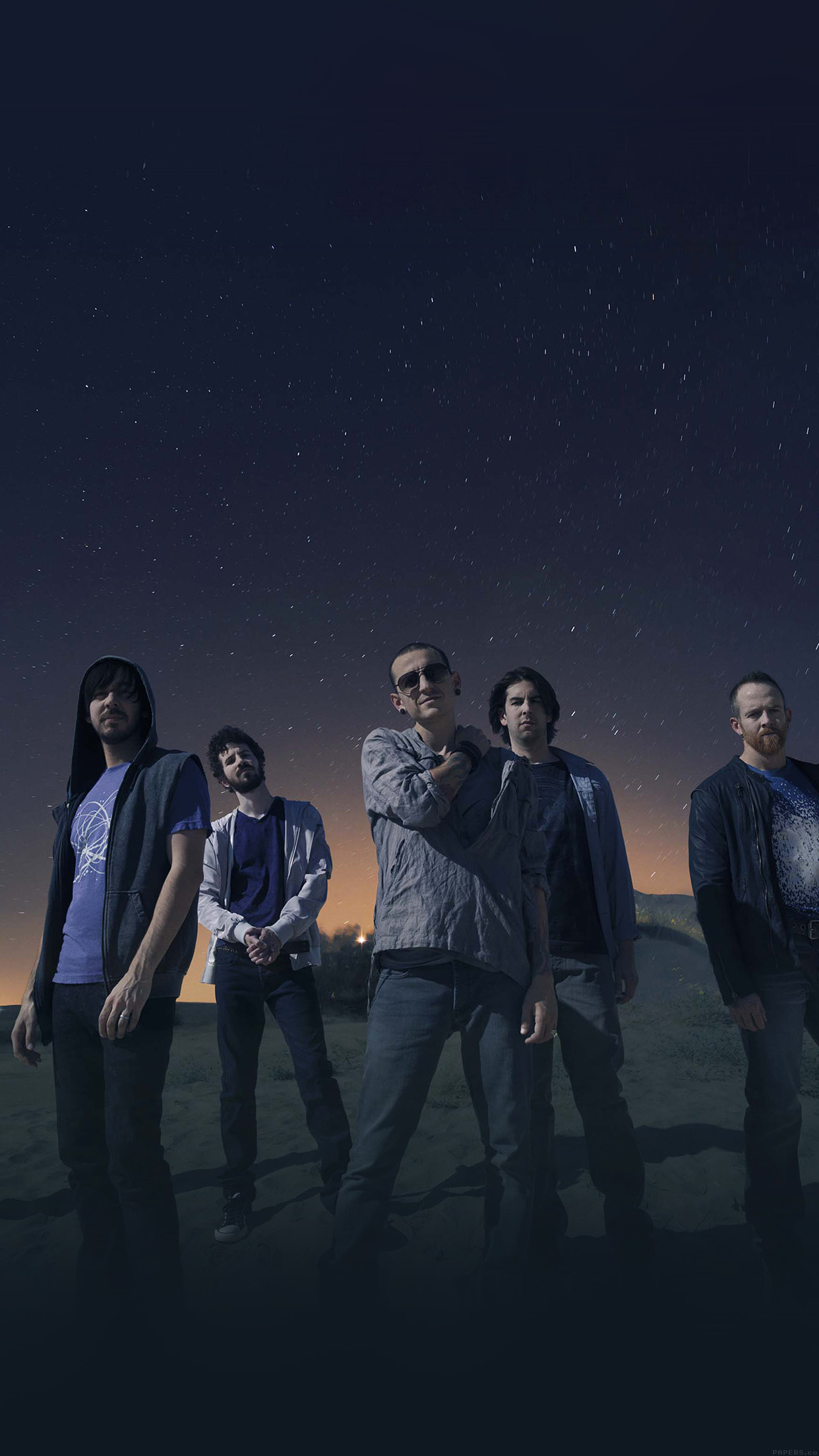 Linkin Park Space Music Stars Celebrity Android wallpaper
