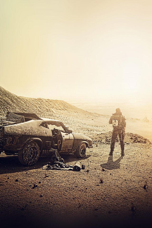 Madmax Dessert Film Art Yellow Furyroad Android wallpaper