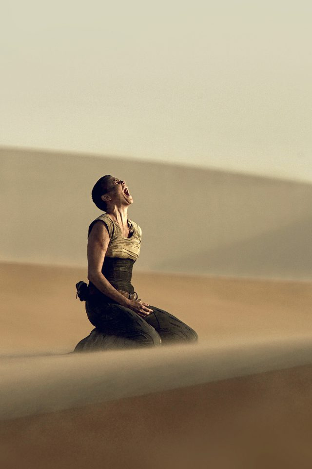 Madmax Furiosa Charlize Theron Film Android wallpaper