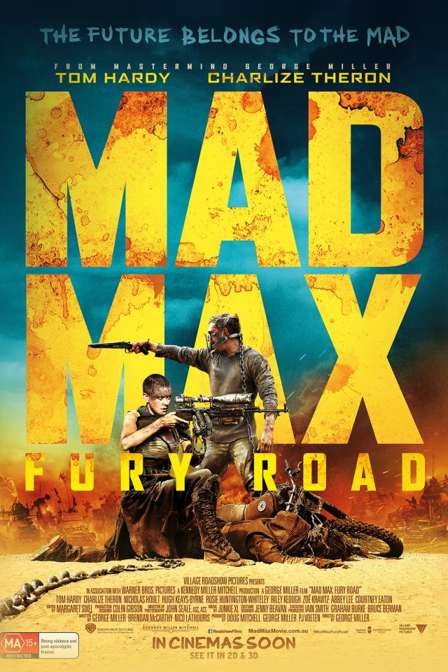 Madmax Furyroad Film Poster Art Android wallpaper