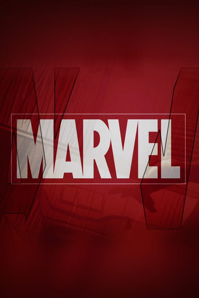 Marvel Logo Film Art Illust Minimal Android wallpaper
