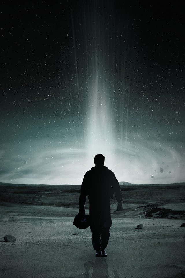 Matthew Mcconaughey Interstellar Space Filme Android wallpaper