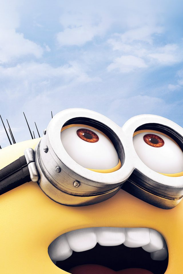 Minion Art Cute Illustration Film Android wallpaper