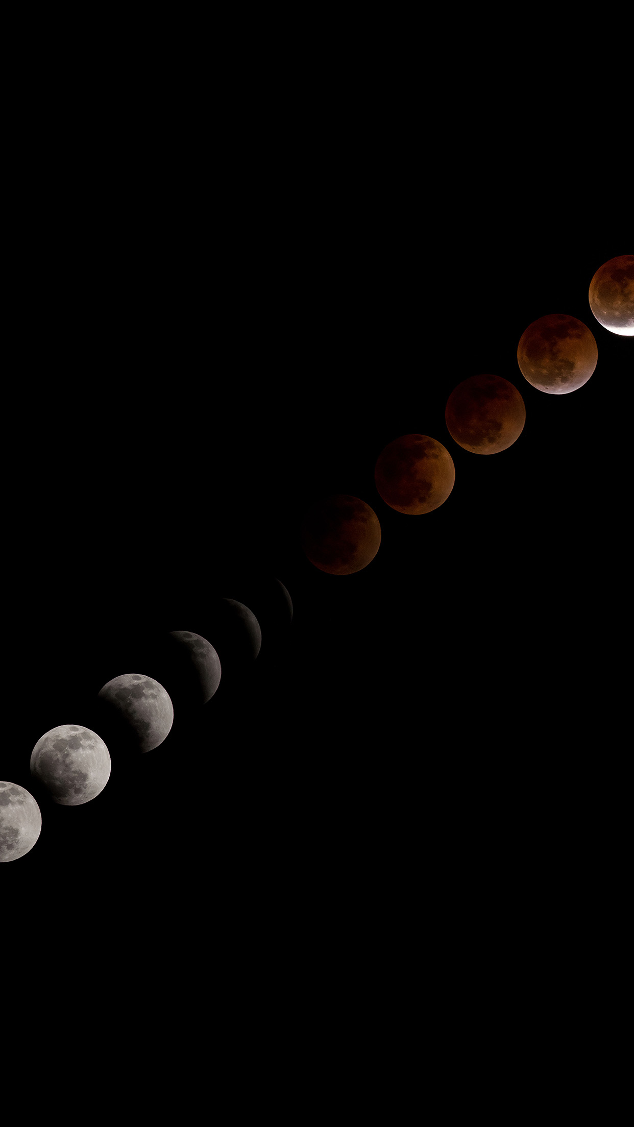 Blood Moon Lunar Eclipse Android wallpaper