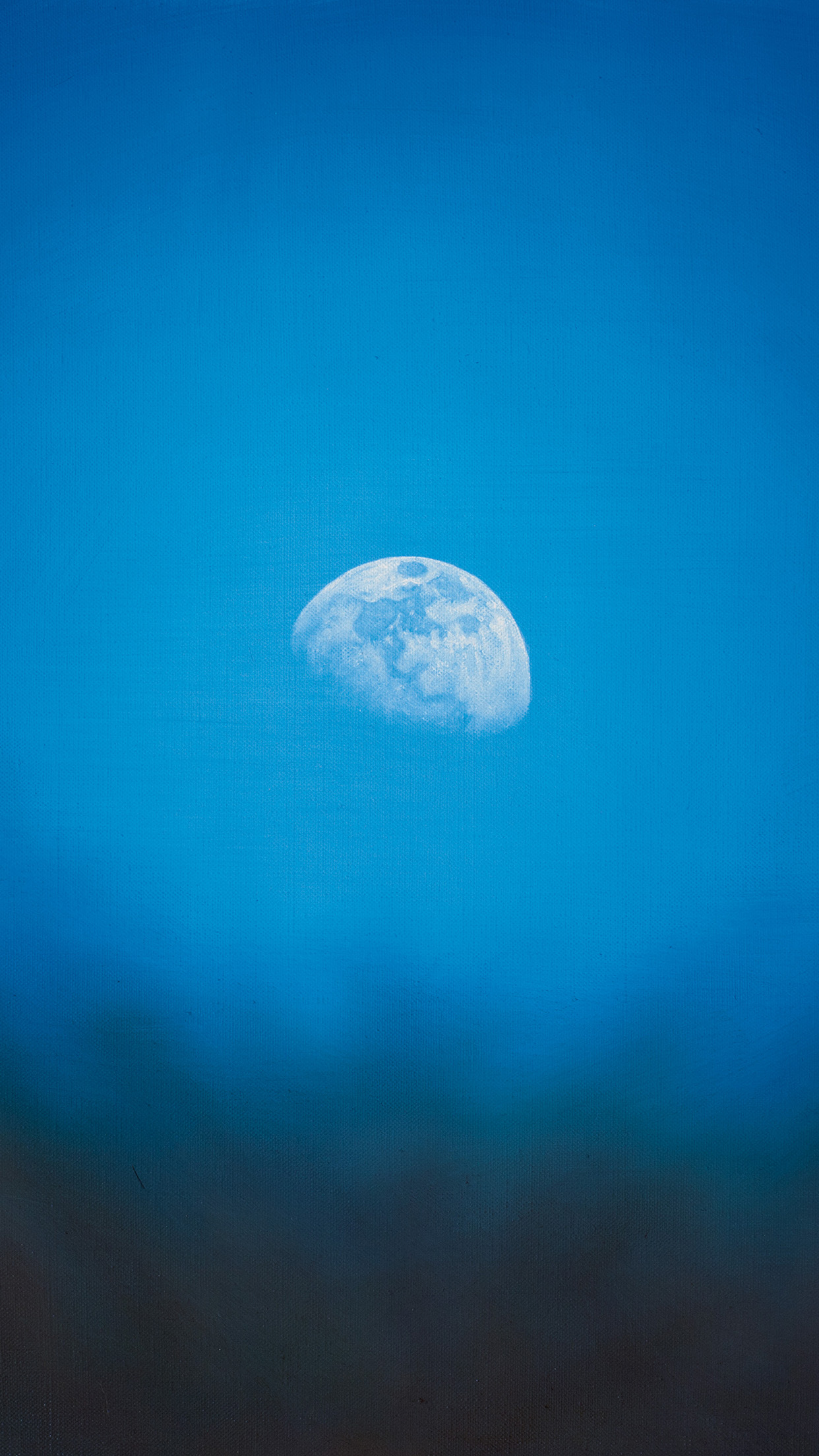 moon rise day nature blue dark night android wallpaper android hd wallpapers