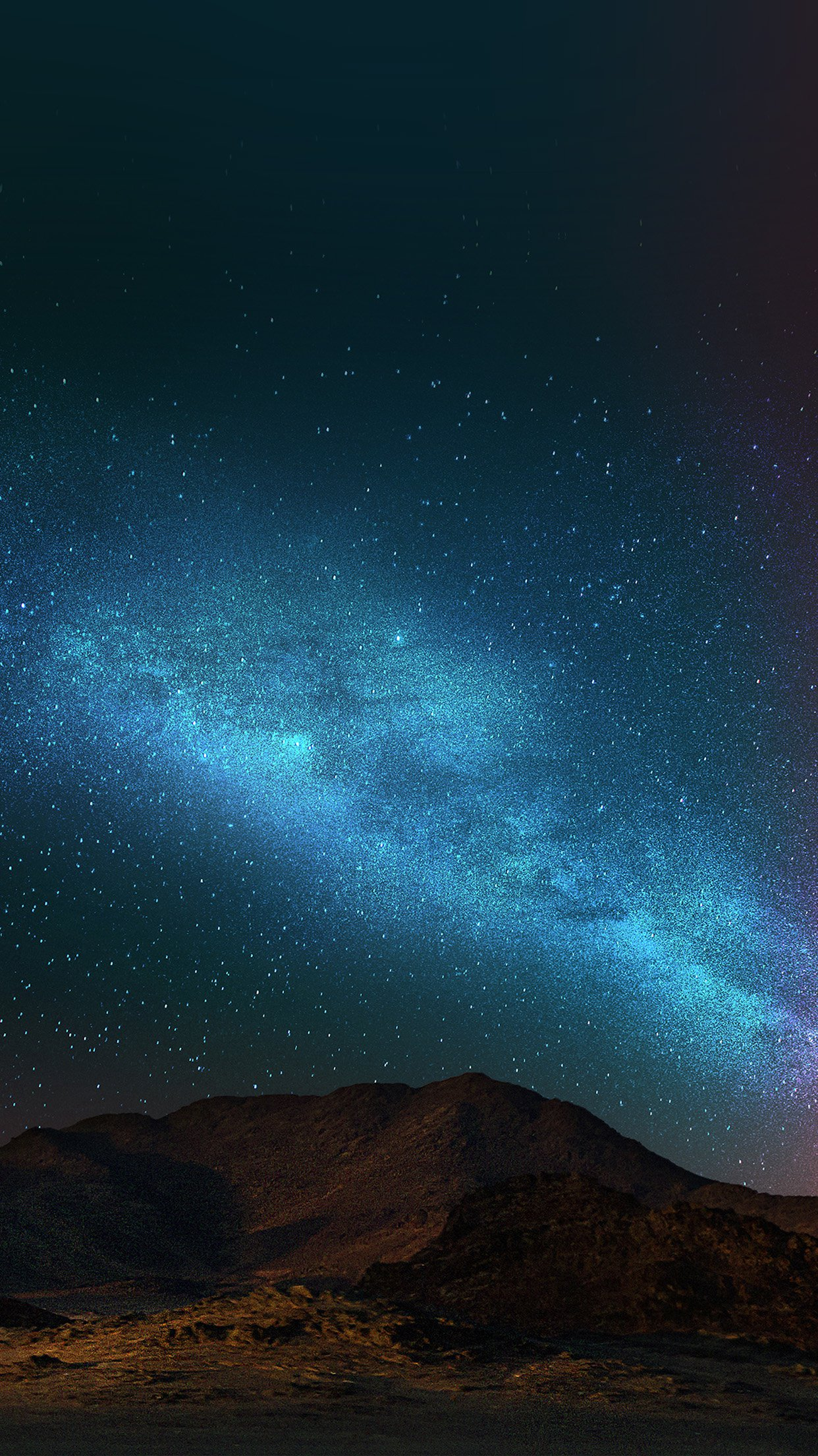 Night Sky Dark Color Star Shining Nature Android wallpaper