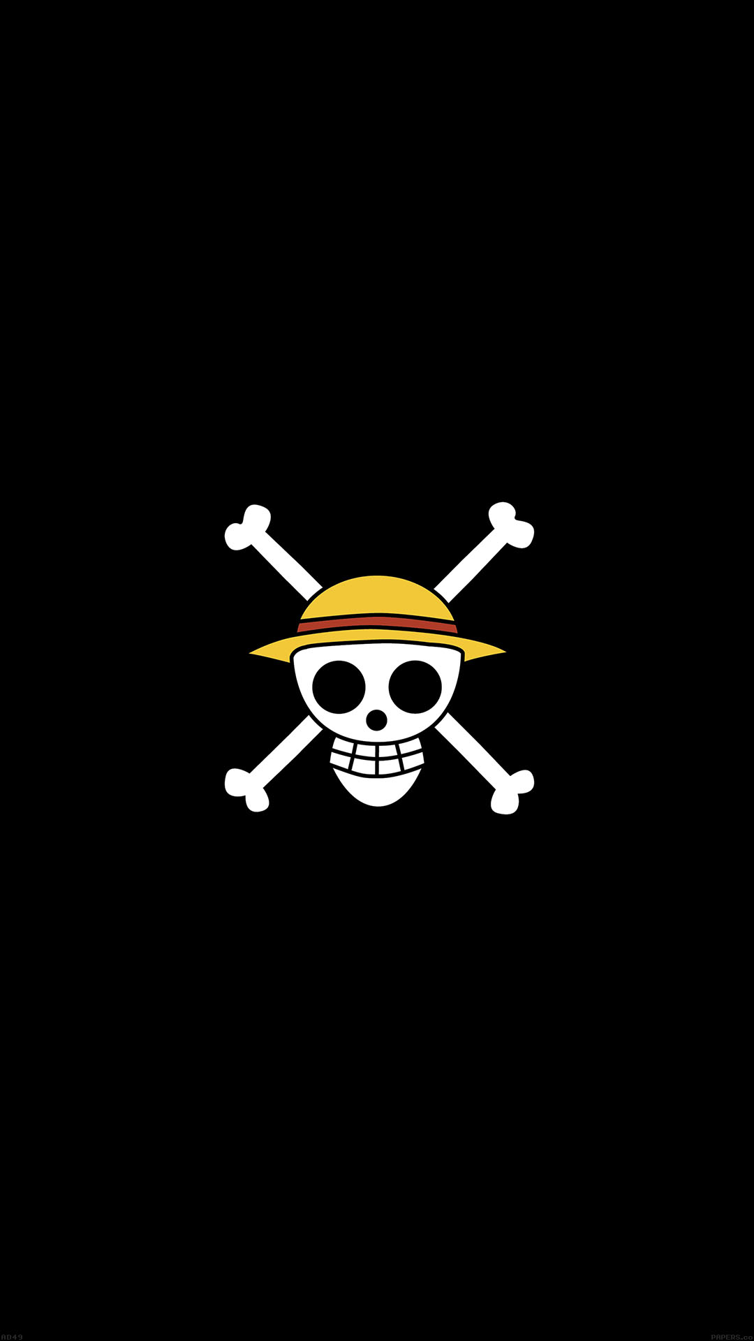 One Piece Logo Art Android wallpaper
