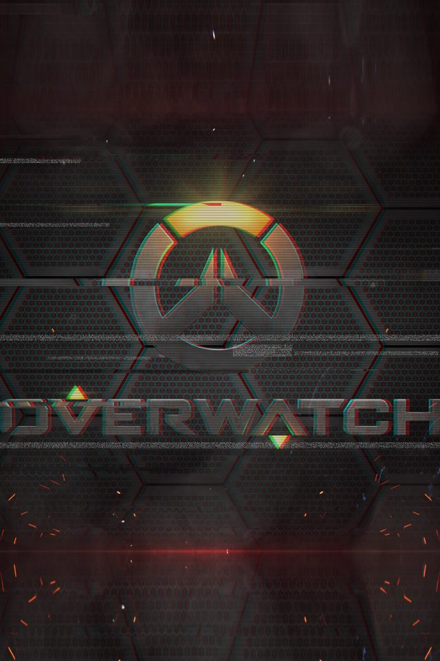 Overwatch Logo Game Art Illustration Android wallpaper