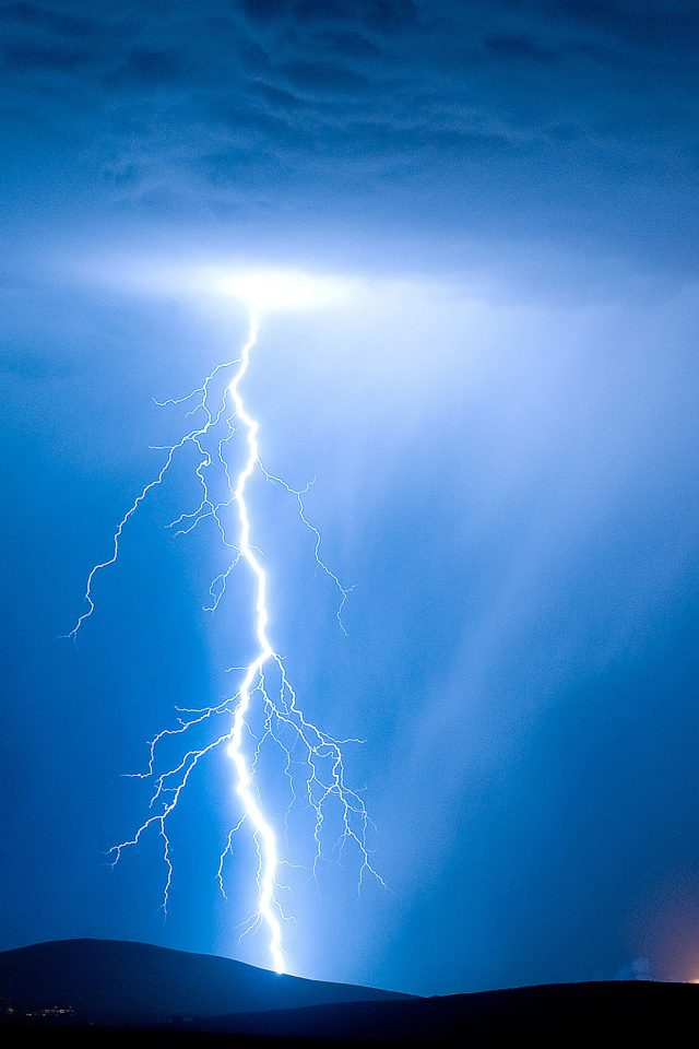 Psionic Storm Sky Nature Android wallpaper