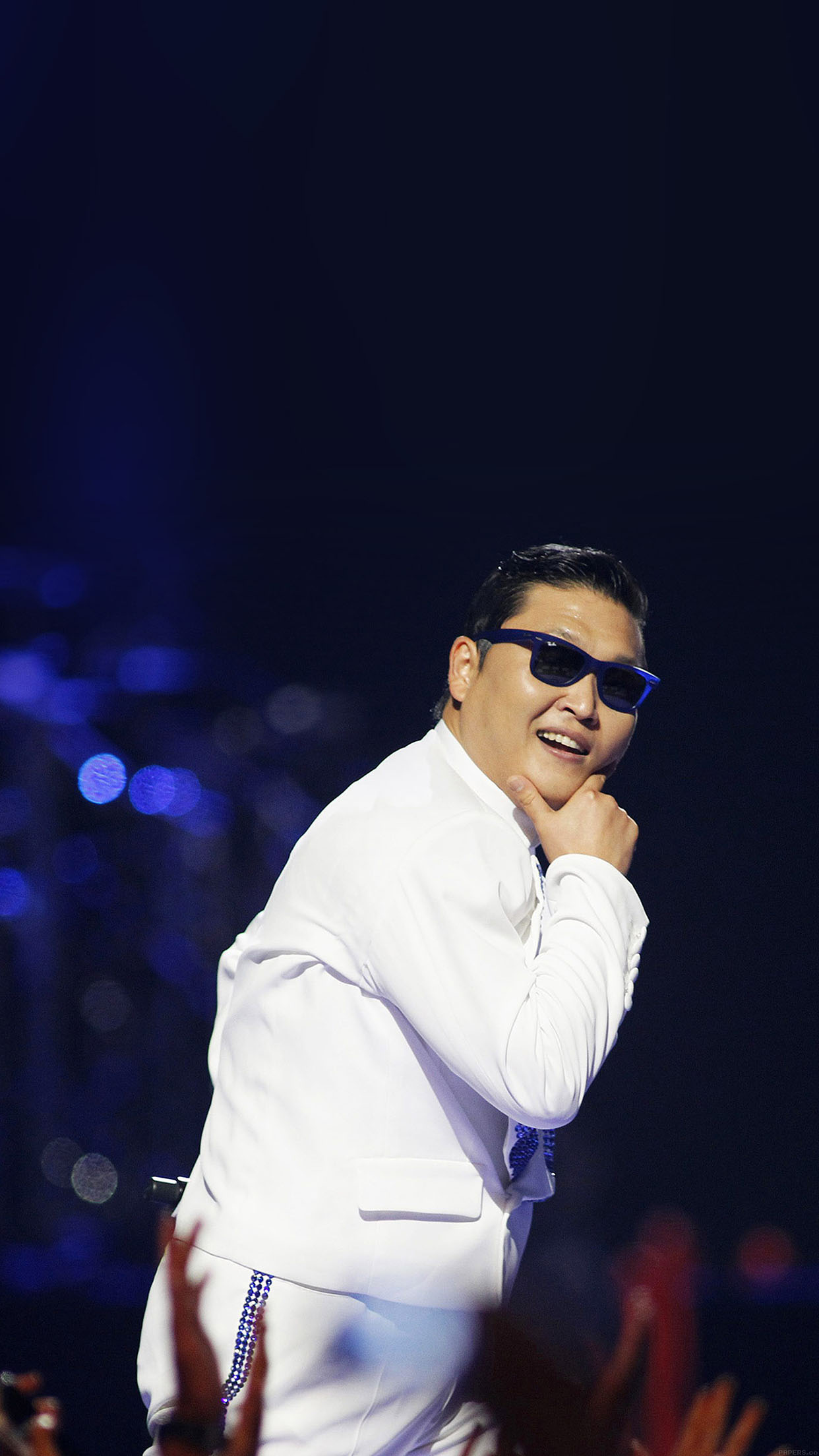 Psy Proud Dance Music Face Android wallpaper