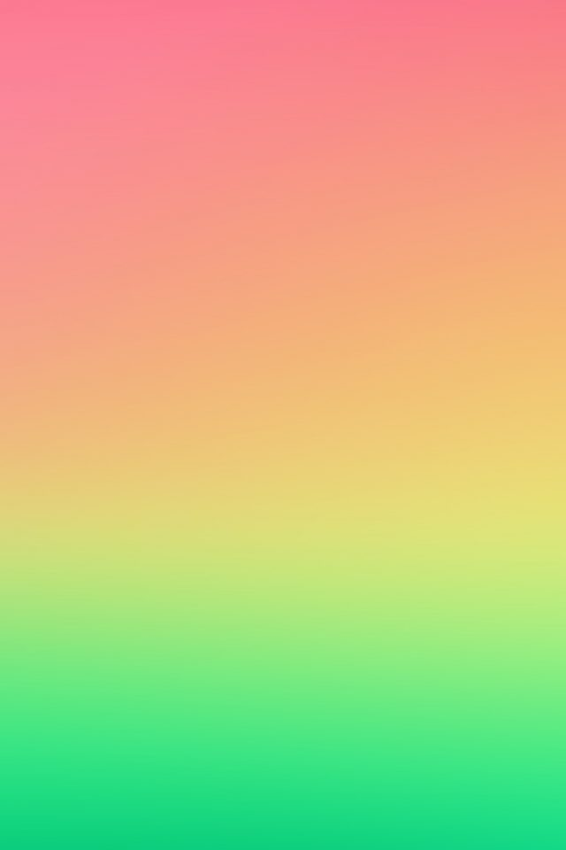 Red Green Gradation Blur Android wallpaper