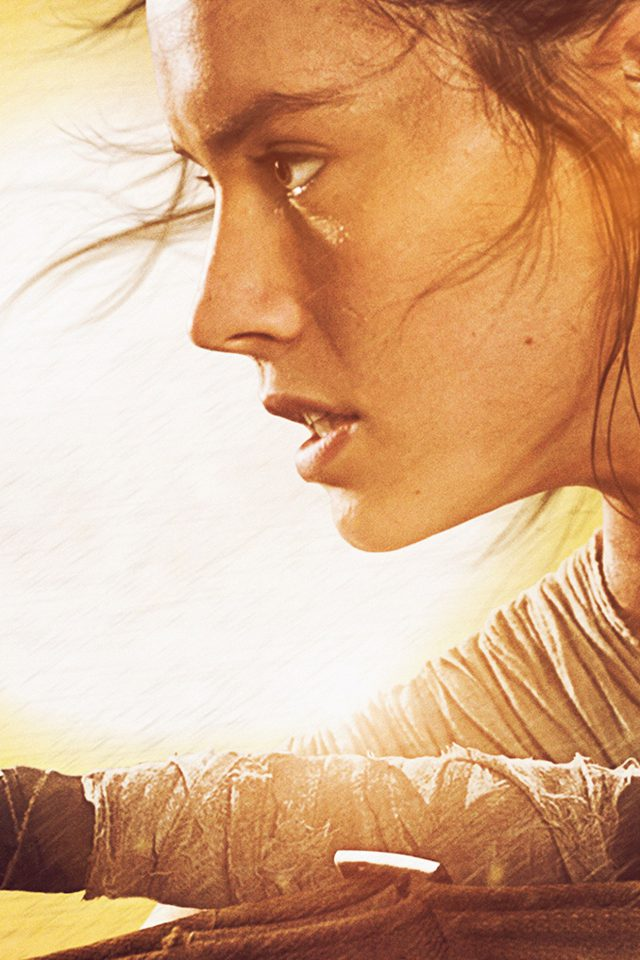 Rey Starwars Film Art Actress Love Android wallpaper