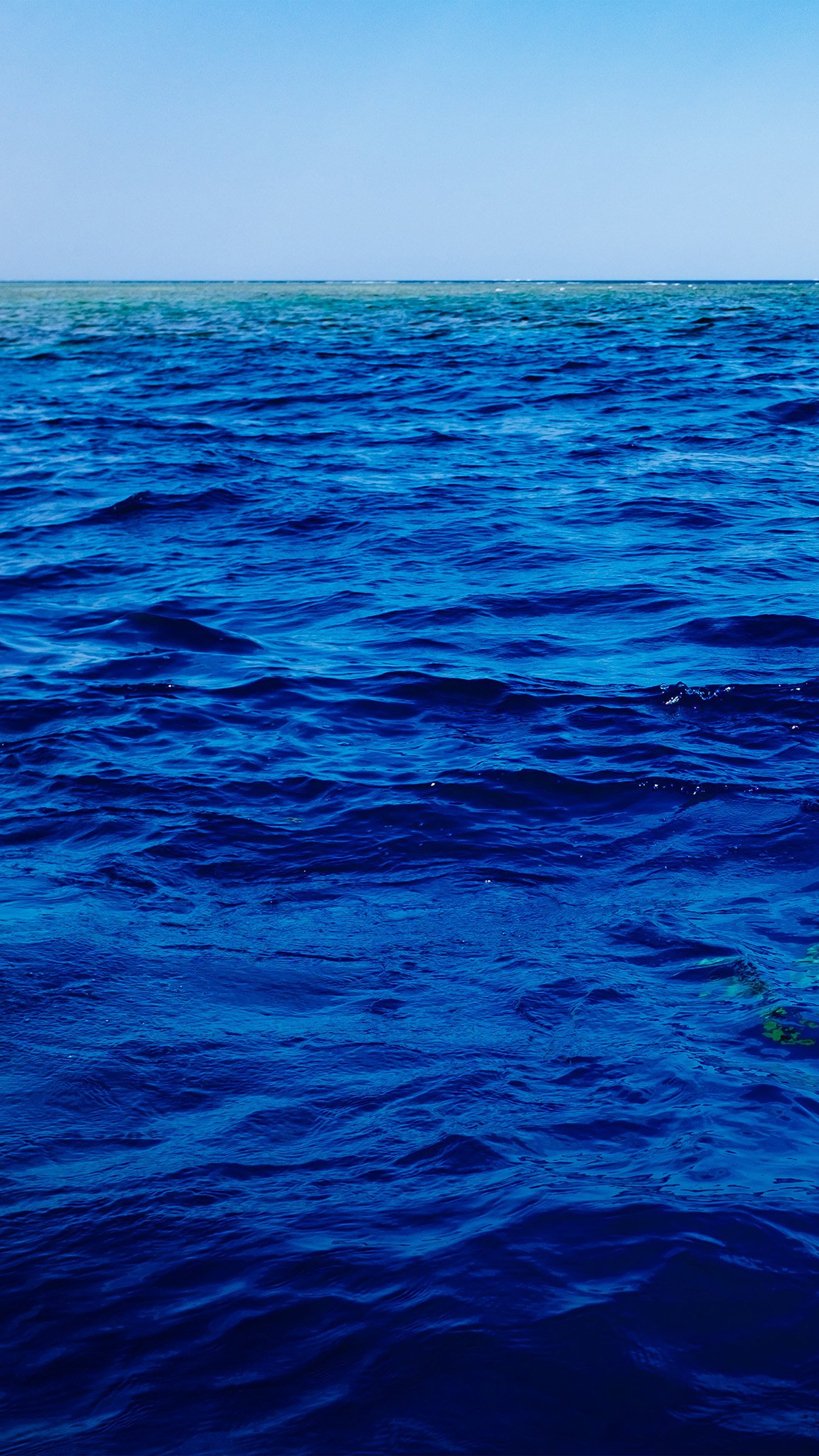 Sea Blue Ocean Nature Summer Swim Android wallpaper