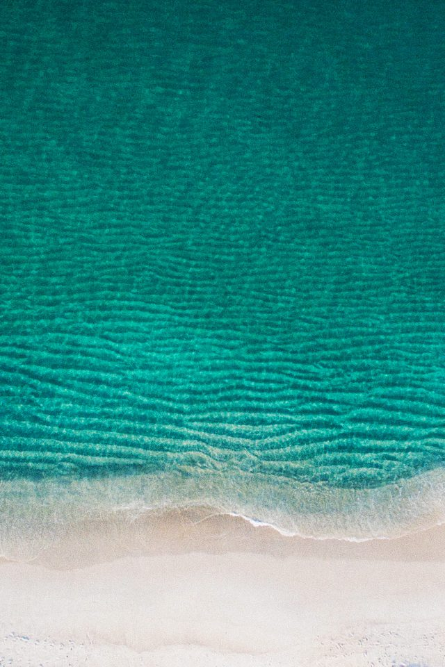 Sea Ocean Green Minimal Nature Wave Earth Android wallpaper