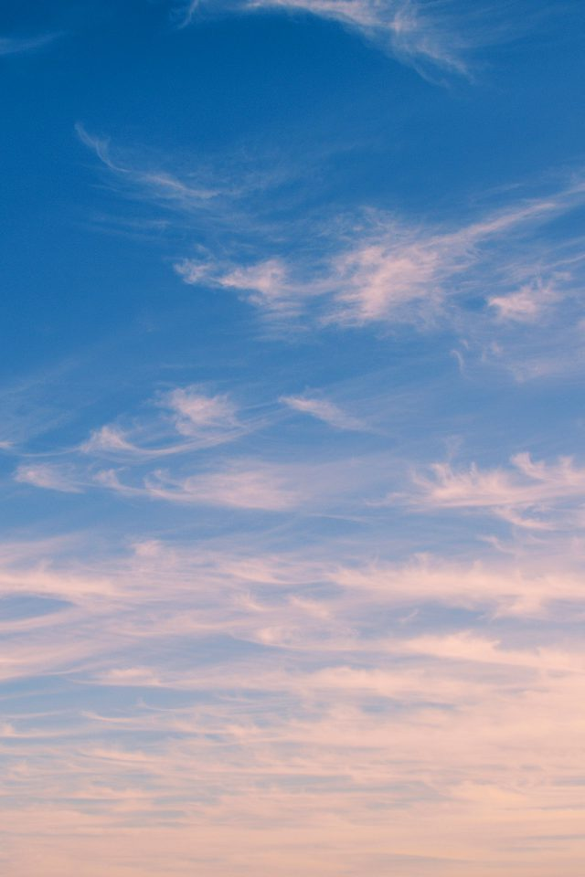 Sky Blue Cloud Nature Sunny Summer Android wallpaper