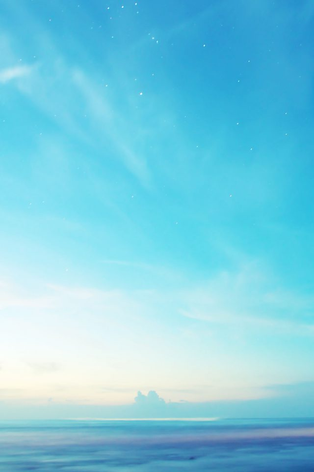 Sky Bright Shiny Morning Nature Android wallpaper