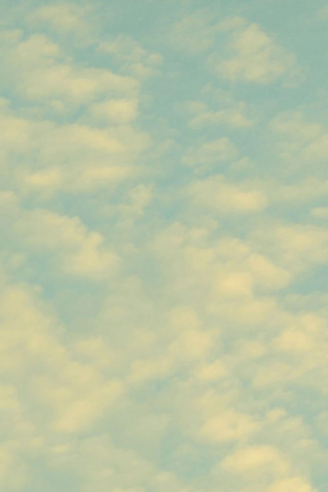 Sky Clouds Fade Nature Pattern Android wallpaper