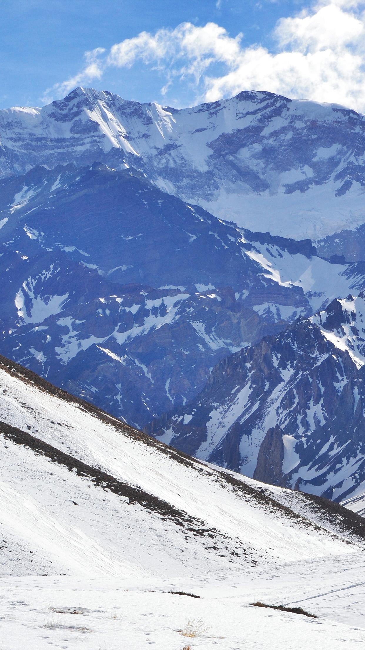 Great Wallpaper Mountain Art - Snow-Mountain-Art-Nature-Winter  Graphic_74421.jpg