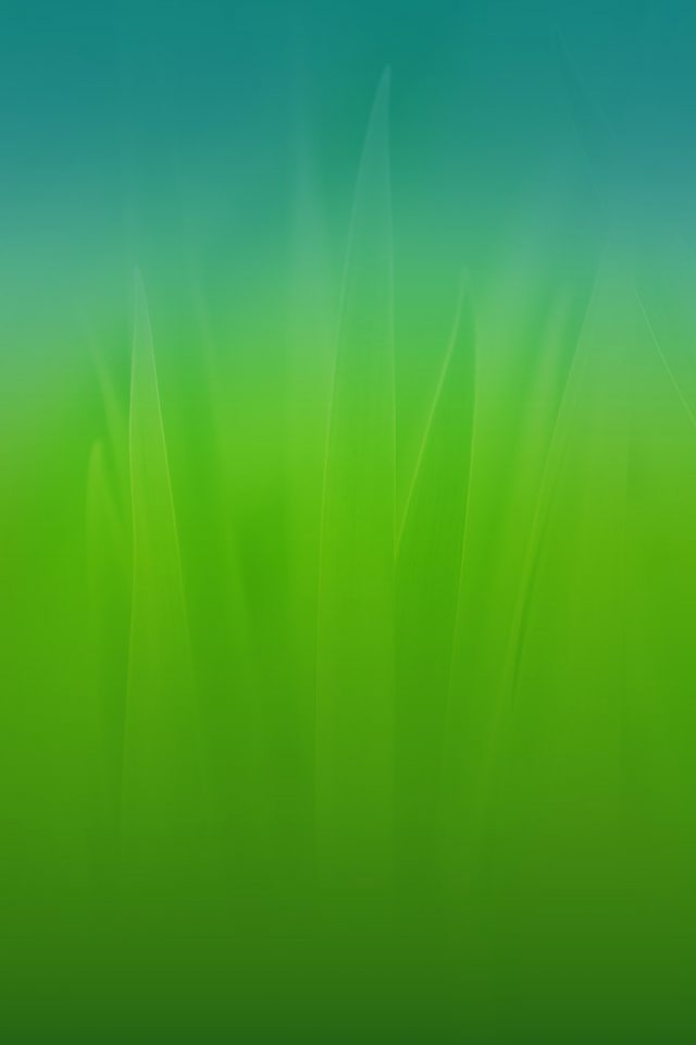Soft Blue Nature Green Blue Leaf Pattern Android wallpaper