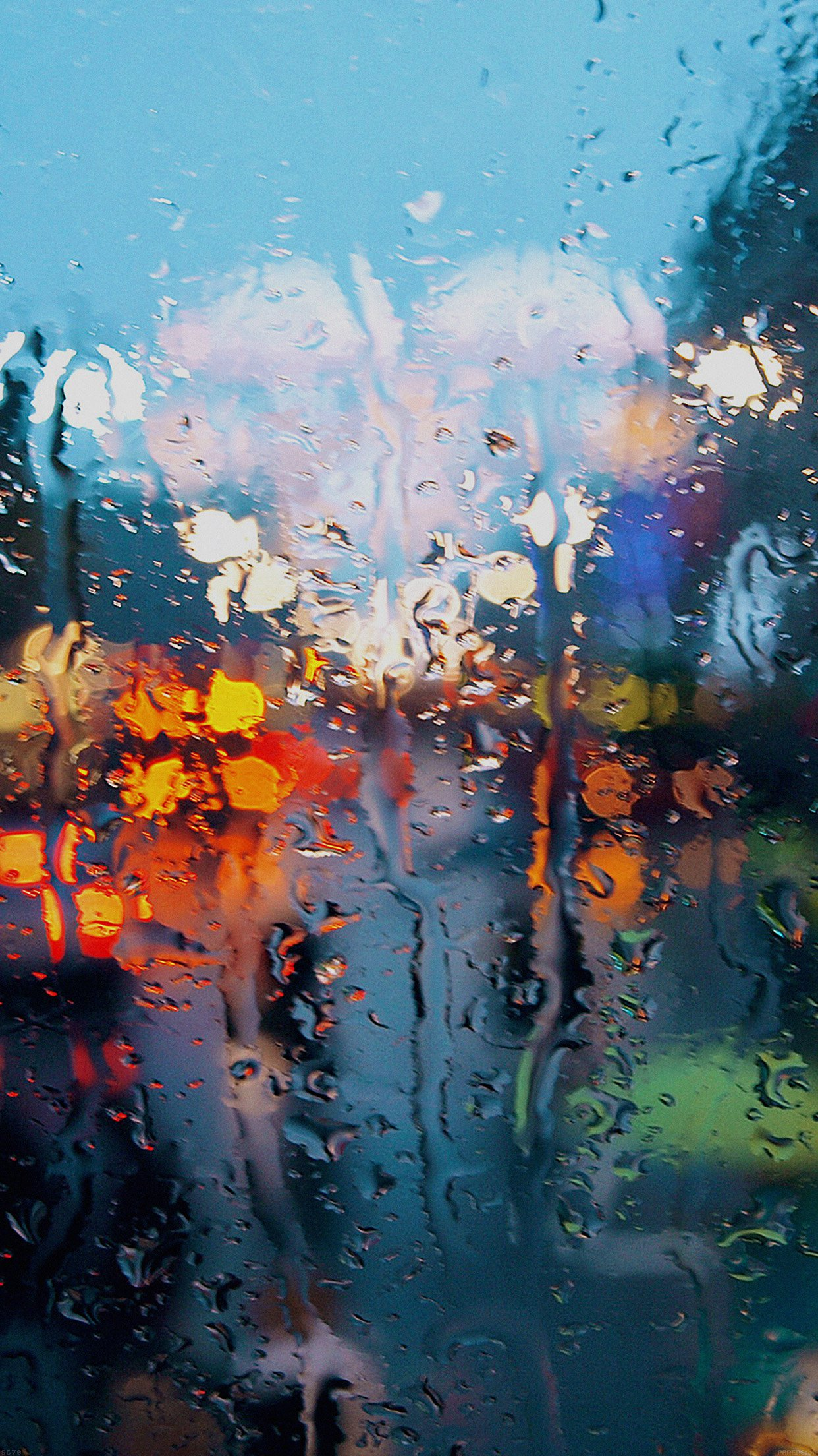 Somedays Rain Window Wet Nature Android Wallpaper Android
