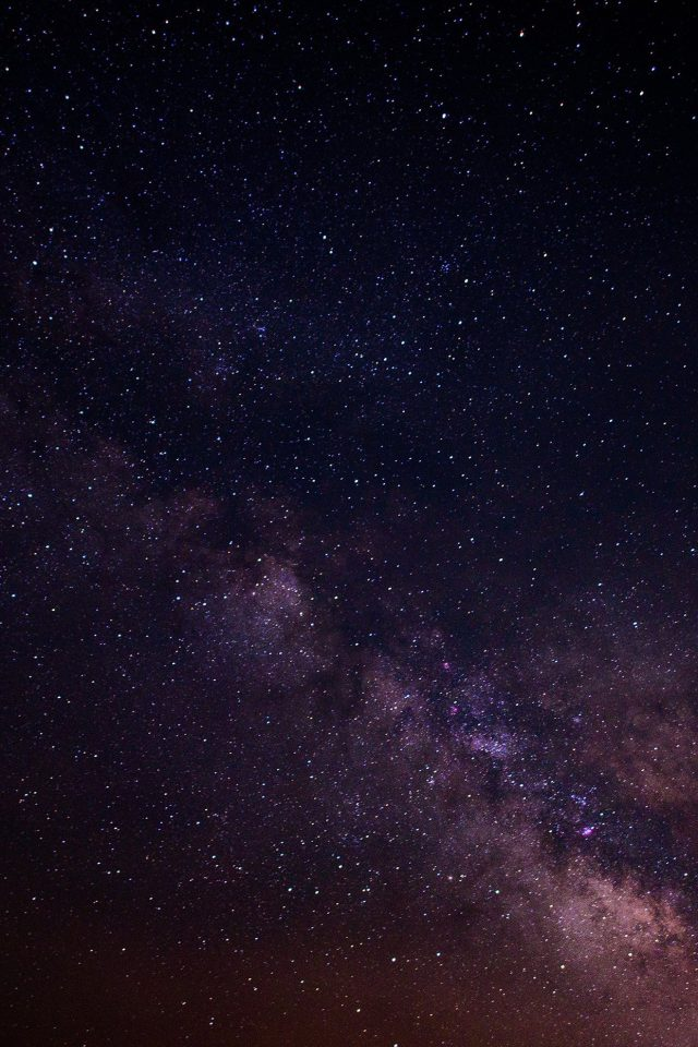 Space Star Night Galaxy Nature Dark Android wallpaper