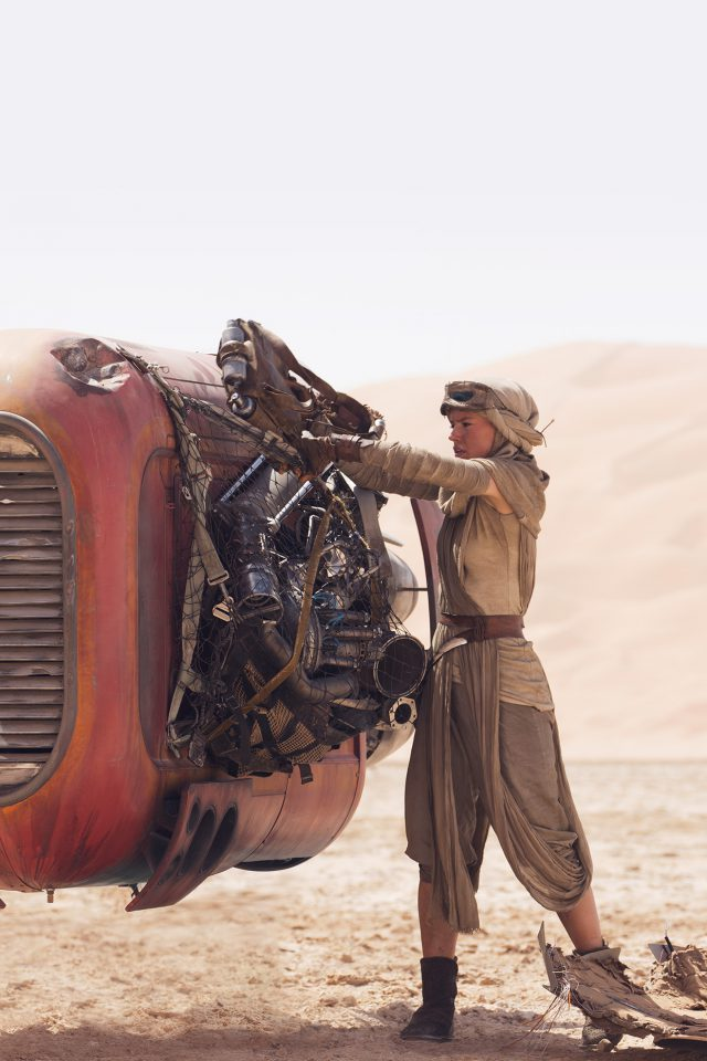 Starwars Force Awakens Art Rey Film Android wallpaper