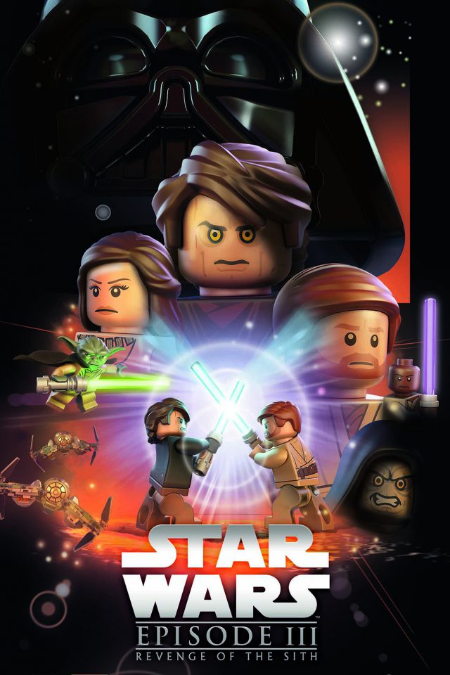 Starwars Lego Episode 3 Revenge Of The Sith Art Film Android wallpaper