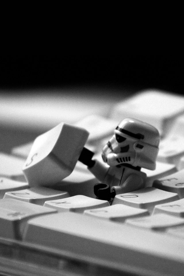 Storm Trooper Starwars Keyboard Film Android wallpaper
