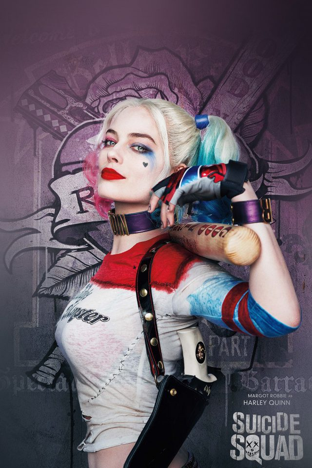Suicide Squad Poster Film Art Hall Harley Quinn Android wallpaper