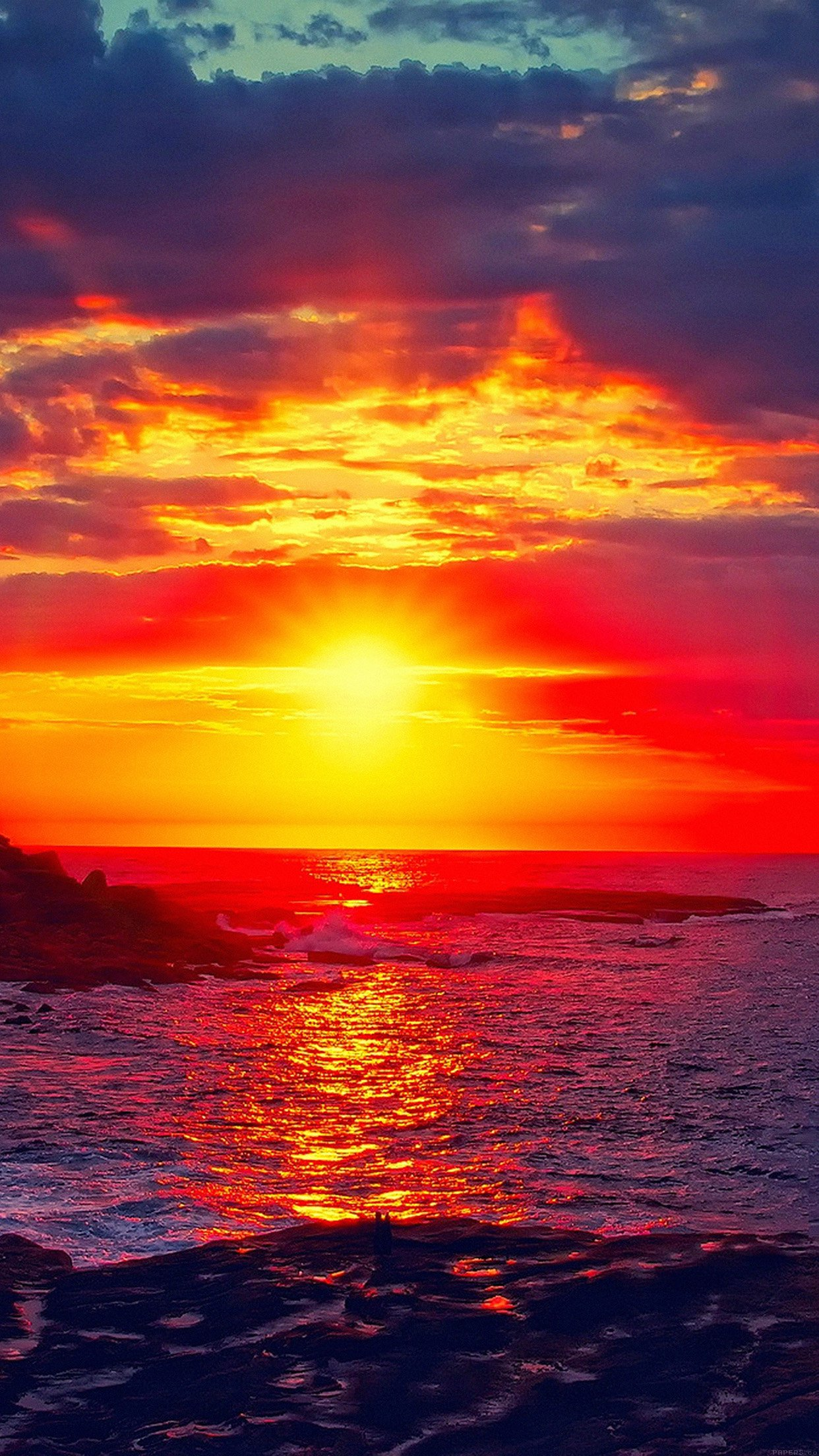 Sunset Beach Nature Afternoon Love Android wallpaper