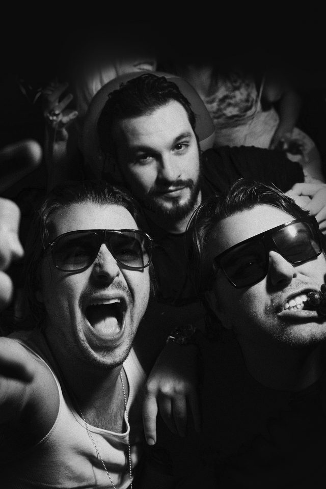 Swedish House Mafia Dj Having Fun Music Android wallpaper