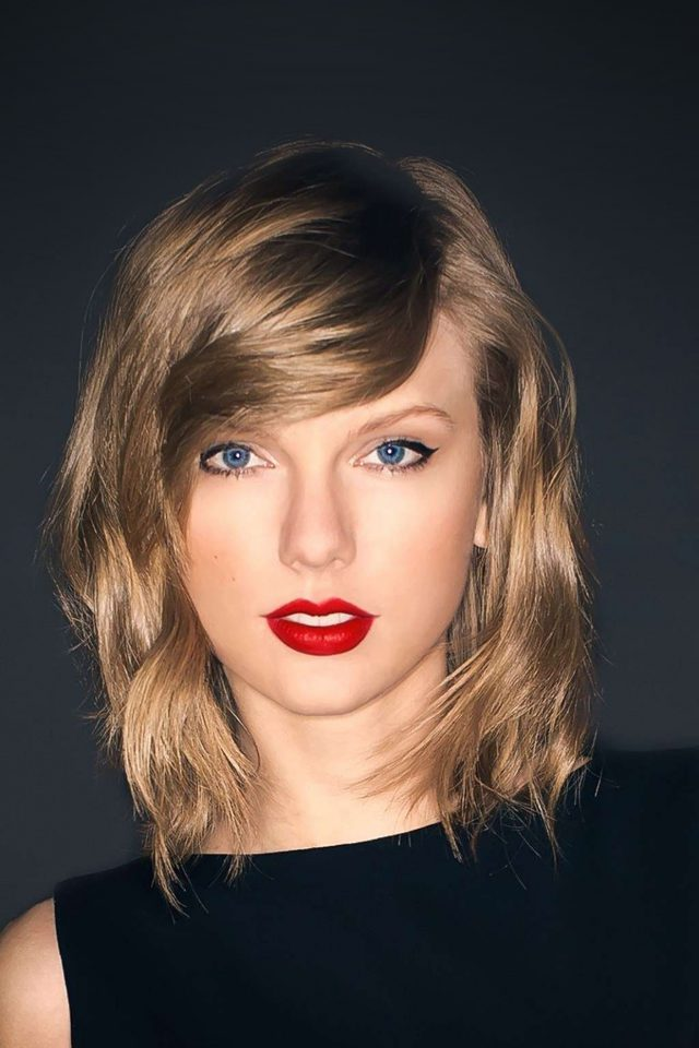 Taylor Swift Dark Lips Music Celebrity Android wallpaper
