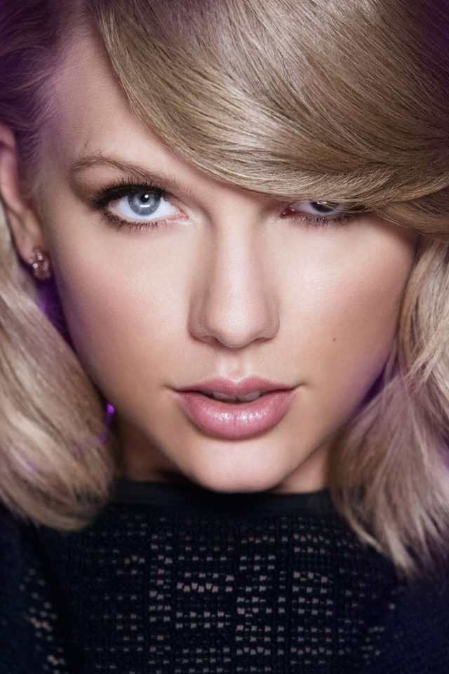 Taylor Swift Face Music Celebrity Android wallpaper