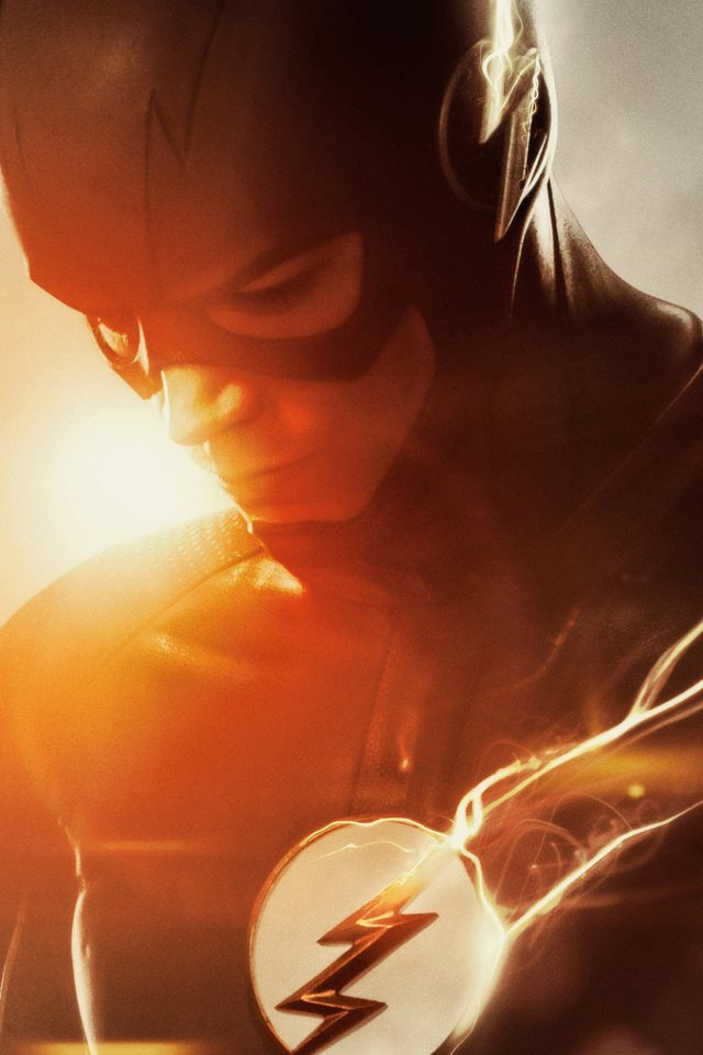 The Flash Tv Series Hero Film Art Android wallpaper