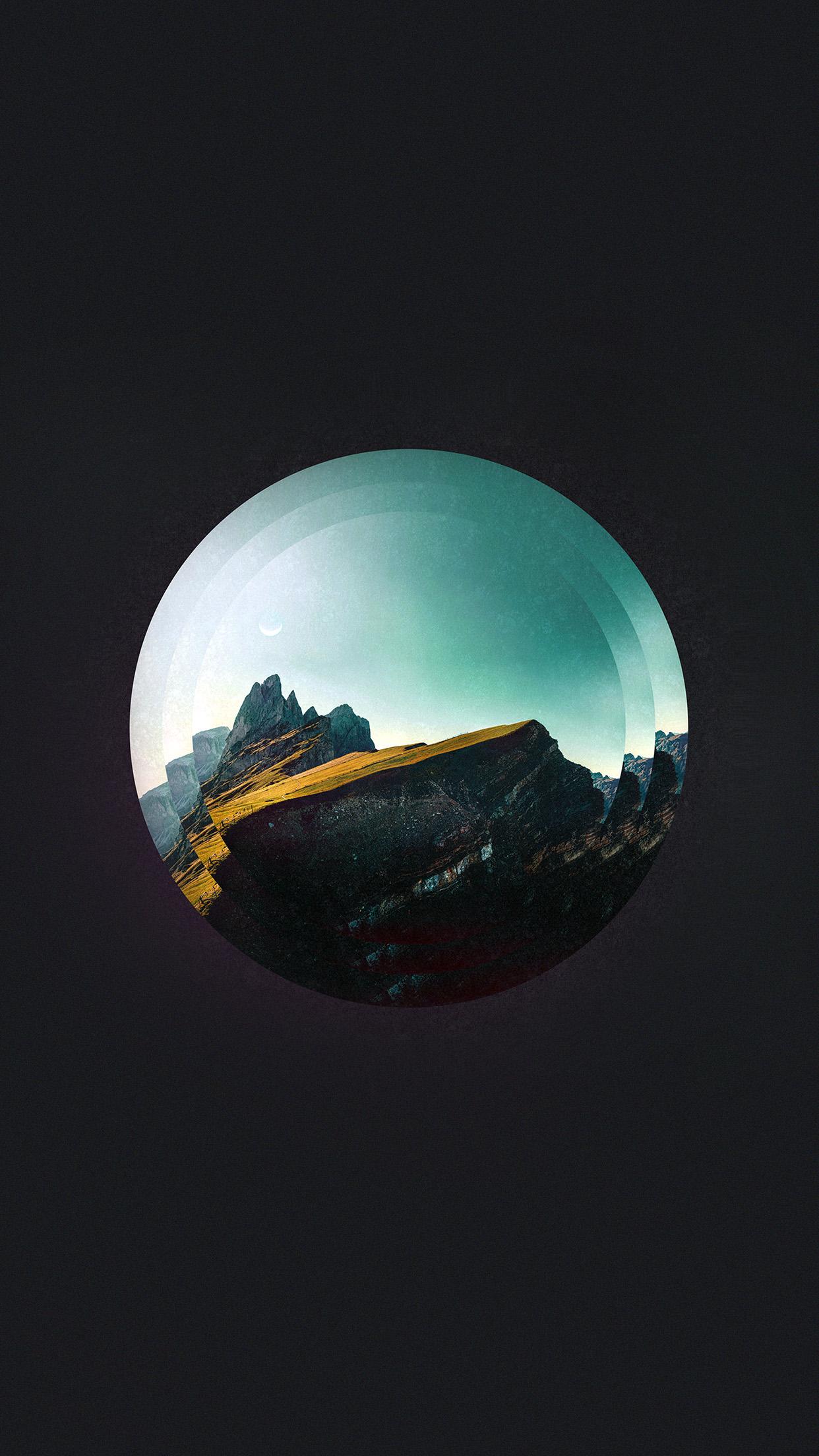 Tycho Art Cover Music Minimal Art Dark Android Wallpaper