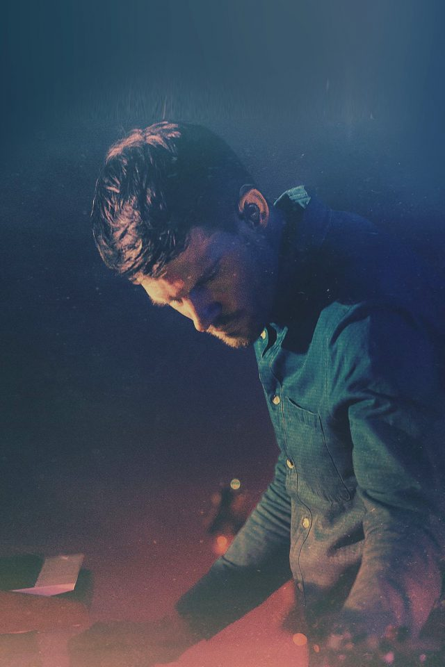 Tycho Artist Music Portrait Android wallpaper