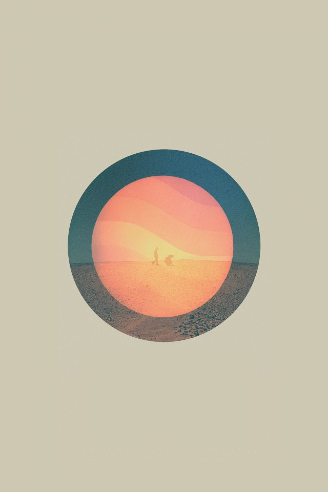 Tycho Poster Art Music Illust Simple Android wallpaper