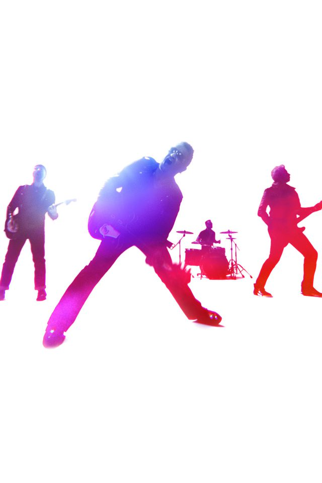 U2 Free Music White Android wallpaper
